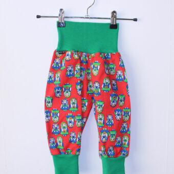 Muddbyxor Retrotyg Återbruk Barnkläder Byxor babykläder