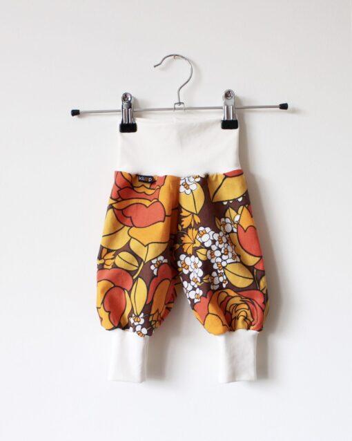 Muddbyxa Babykläder Babybyxor Återbruk Beata Retrotyg Vintagetyg