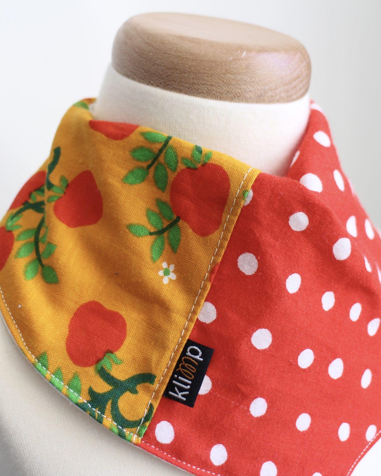 Dregglis Scarf Återbruk Retro Retrotyg Vintage Vintagetyg Barnkläder Babykläder