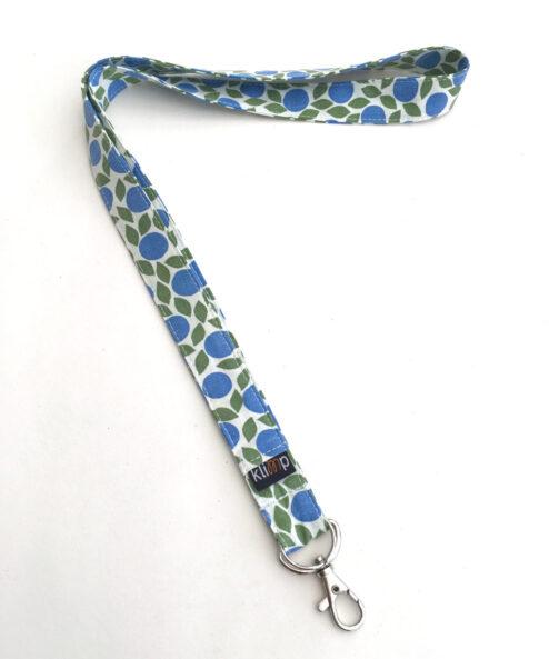 Nyckelband Nyckelring Nyckelringsband Nyckelhållare Retro Retrotyg Vintage Vintagetyg Återbruk Miljövänligt